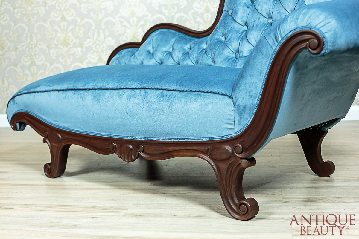Antique Beauty - Aged Chaise Longue After Renovation on antique daybed, antique commode, antique fountain, antique sofas, antique chaise couch, antique chalice, antique dresser, antique beds, antique egg, antique french country, antique recliner, antique glider, antique fabric, antique fainting couch, antique chair, antique books, antique chaise lounge, antique armchairs, antique lighting, antique parasol,