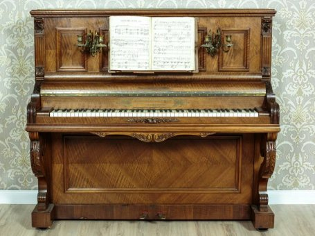 Pianino L. Burgasser &Co Paris  ok.1890 r