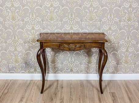 Neo-Rococo Card Table/Wall Table  from the 19th c.