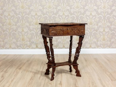 Small Table/Sewing Table, Circa 1890