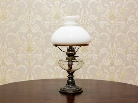 Kerosene Lamp from the 2nd Half of the 19th c. (Circa 1865)