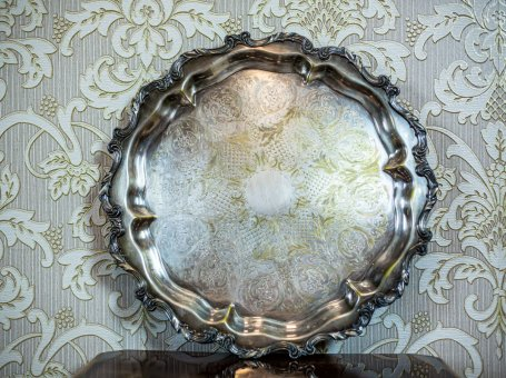 Wallace & Son Silver-Plated Tray