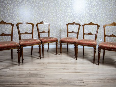 Set of Six 19th-Century Chairs