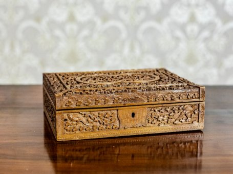 Carved Wooden Coffret