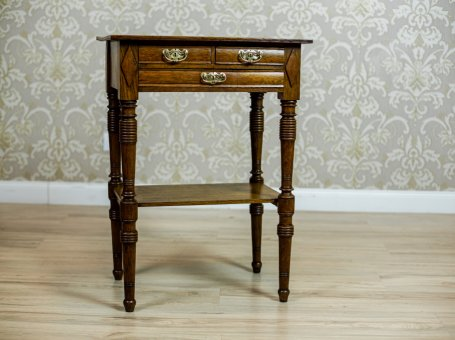 19th-Century Sewing Table