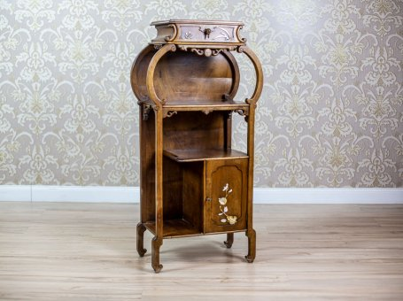 19th-Century Oriental Cabinet/Whatnot