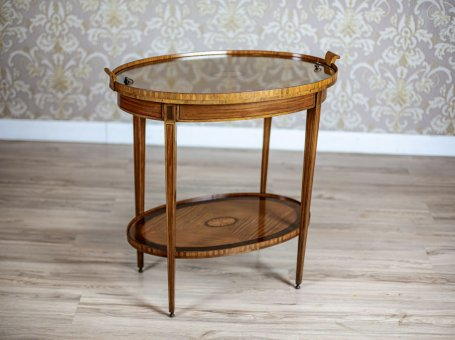 19th-Century Rosewood Tea Table