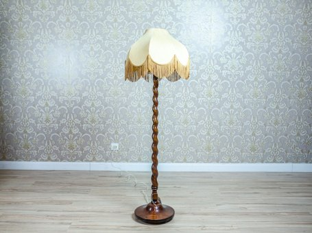 Wooden Floor Lamp from the 1960s-1970s