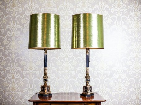 Pair of Lamps in the Empire Type