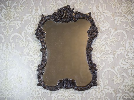 Mirror in a Neo-Rococo Frame