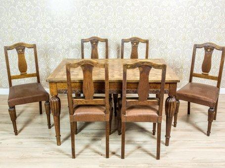 Kolekcjonerskie Antyczne Stoły I Krzesła Zabytkowe Antique Beauty