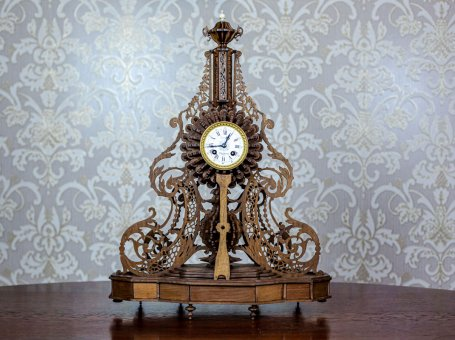 19th-Century Mantel Clock – Unique