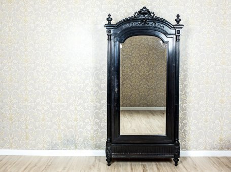 Antique Closet with a Mirror
