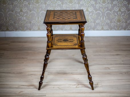 19th-Century Chess Table