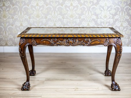 Coffee Table in the Chippendale Type