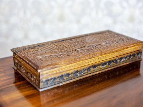 Indonesian Carved Coffret