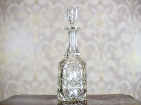 Crystal Decanter, Circa 1900