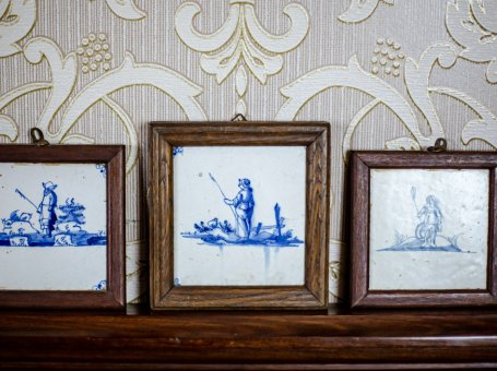 Three Framed Tiles