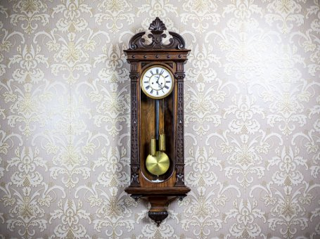 Wall Clock from the Late 19th Century
