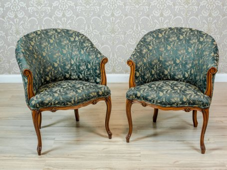 Pair of Stylized Armchairs