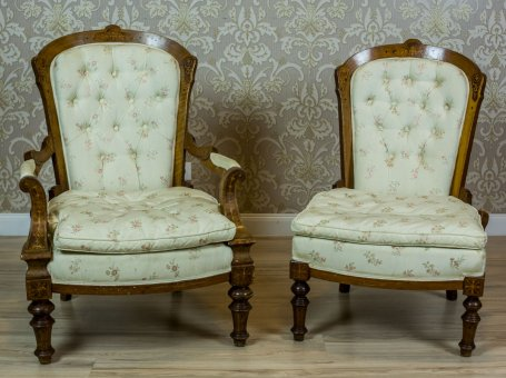 Set of 2 Armchairs