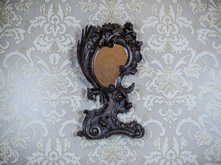 Mirror in a Carved Frame