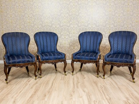 A Set of Neo-Rococo Armchairs from the 19th/20th Century