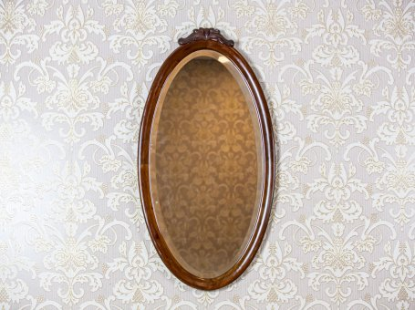 Oval Mirror in a Louis Philippe Frame
