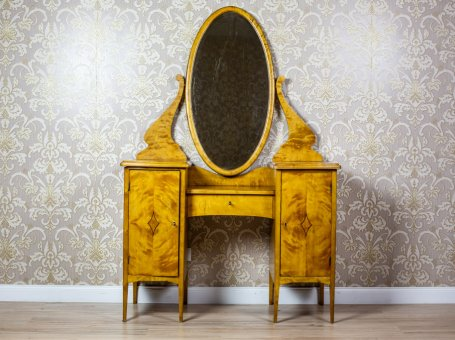 Art Deco Psyche Vanity Table