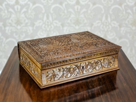 Carved Indonesian Coffret