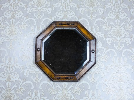 Mirror in an Oak Frame