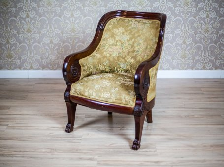 19th-Century Upholstered Armchair