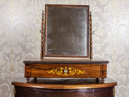 Movable Inlaid Vanity Table