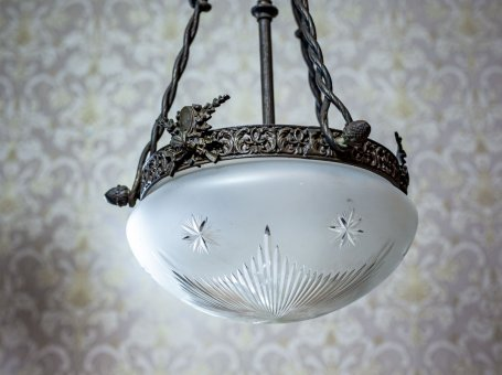 Beautiful Art Nouveau Hanging Lamp