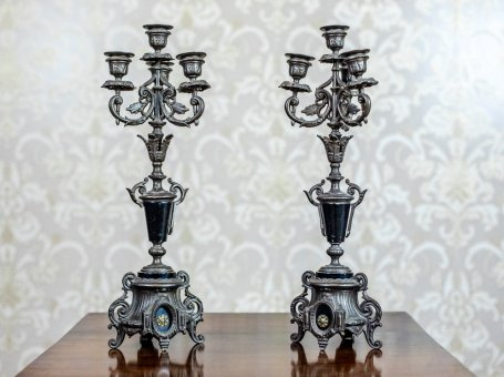 Pair of 19th-Century Candelabras