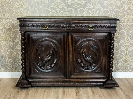 Commode with a Hunting Motif