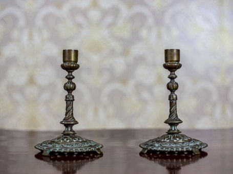 Pair of 19th-Century Candlesticks