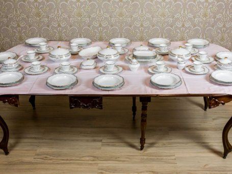 Hutschenreuther Hohenberg Porcelain Service from the 1950s