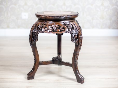 19th-Century Side Table/Flower Stand