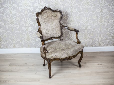 French Neo-Rococo Armchair
